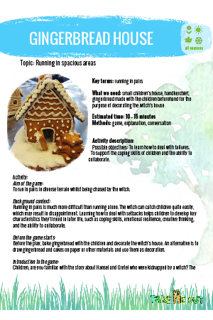 ACTIVITY: GINGERBREAD HOUSE