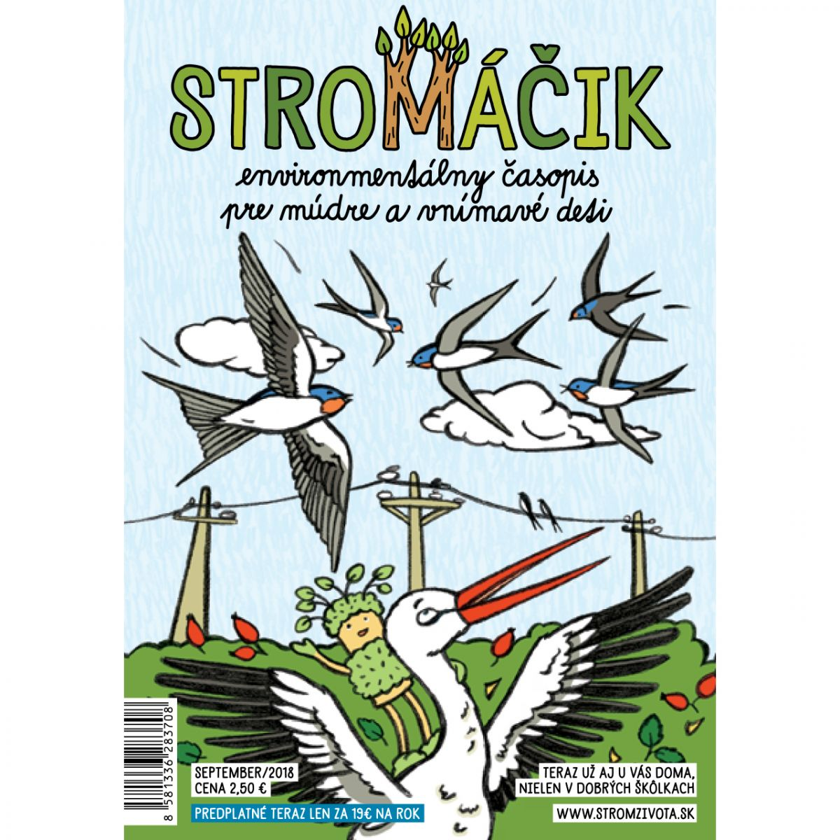 Stromáčik - september 2018