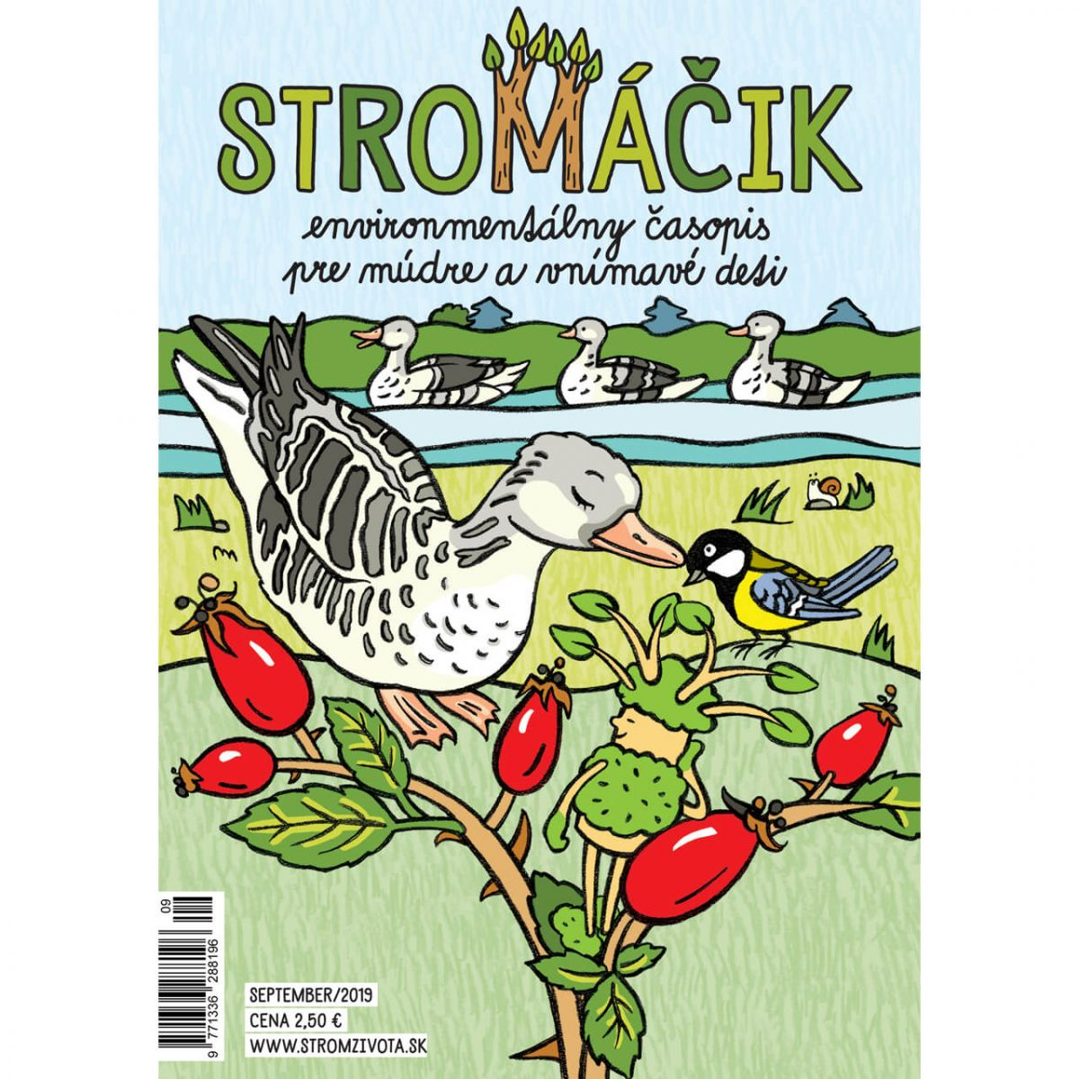 Stromáčik - september 2019